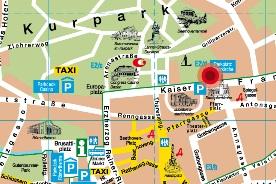 Stadtplan Baden
